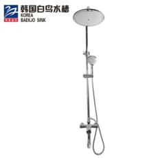 韩国白鸟水槽 全铜花洒套装 淋浴 淋浴龙头 淋浴喷头套装PA1501
