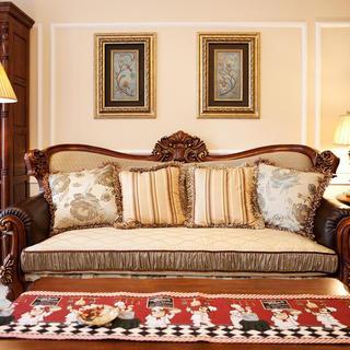 美式风格三居设计 优雅之家
