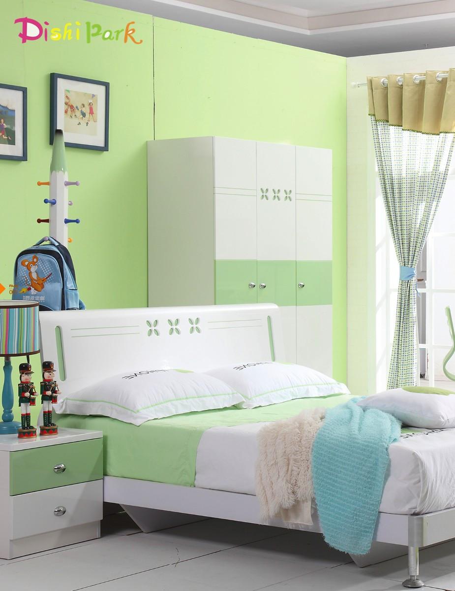 迪世乐园儿童家具气压高箱床图片