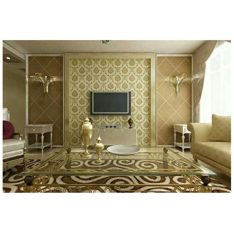 绿森林硅藻泥 沙发背景 美式风格 图片 价格 品高清图片