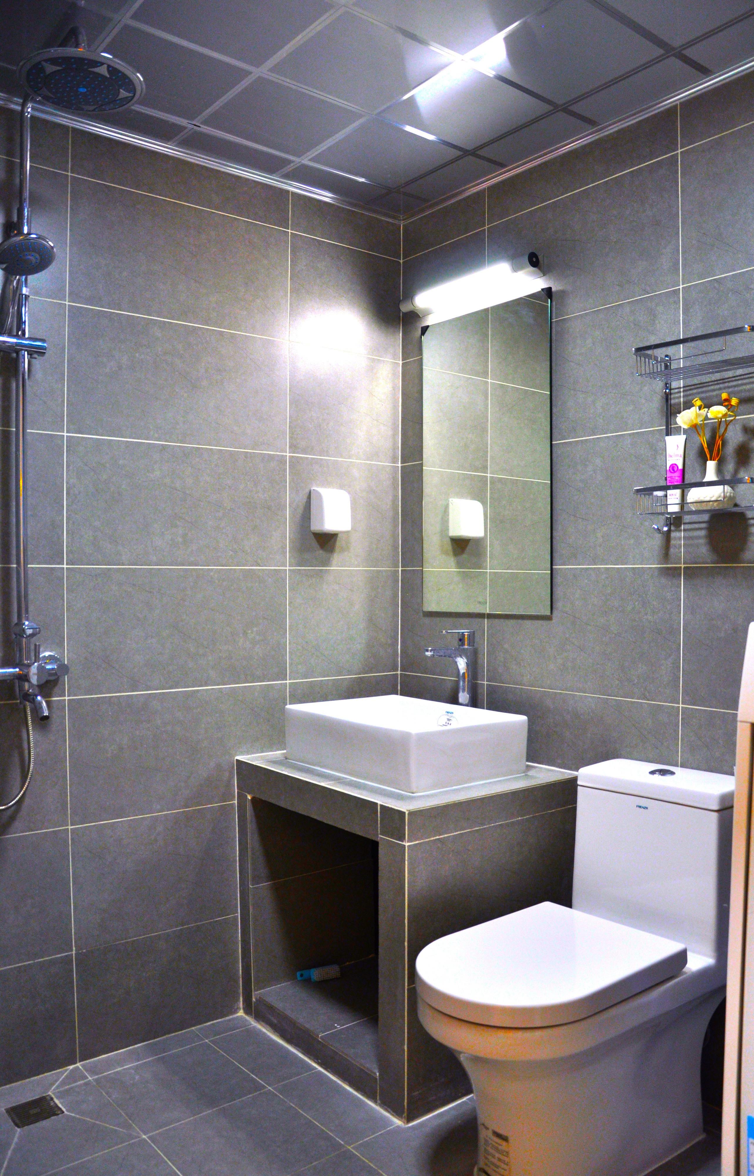30平小公寓设计卫生间装潢图