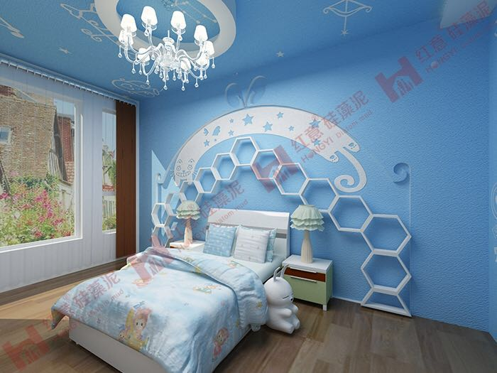 彩泥手工制作卧室