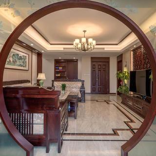 中式风公寓装修设计图