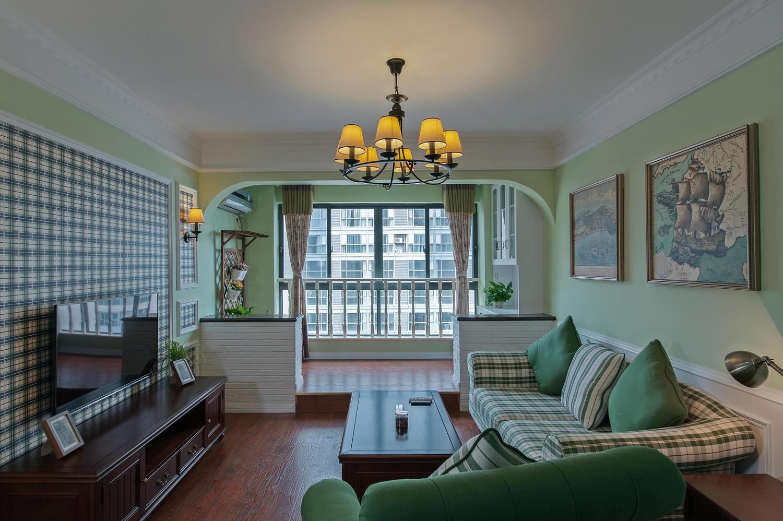 阳台与客厅打通以后,地面处理又榻榻米抬高