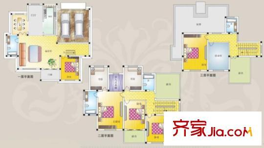 别墅装修室内电路图