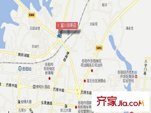 富川县乡镇地图