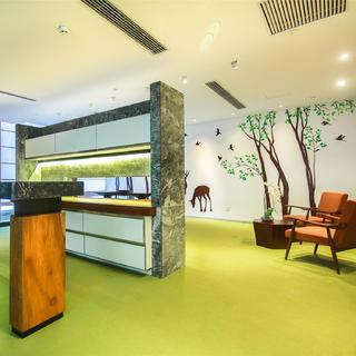 现代简约办公室装修 明快流畅