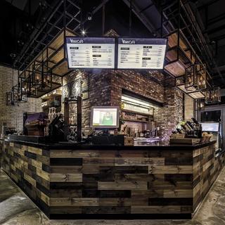 神秘复古咖啡厅装修图