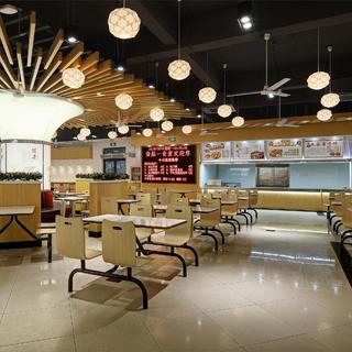 大学食堂装修设计 幸福感爆棚