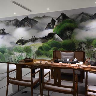 文化工作室装修效果图 极简自然