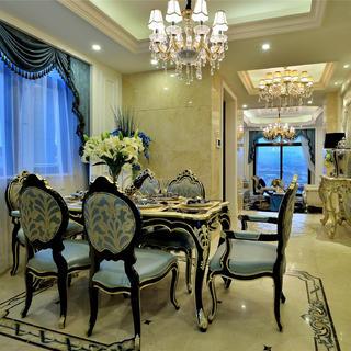 法式别墅装修设计 优雅矜贵