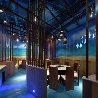 个性化艺术餐厅设计 海上森林
