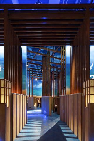 个性化艺术餐厅灯光设计