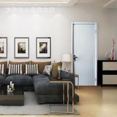 方饰木门 室内门 房门 木质复合烤漆套装门 平板系列FX-110