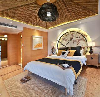 日式别墅装修卧室设计图