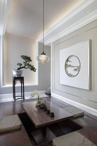 别墅混搭装修茶室设计图