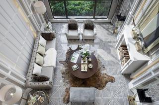 别墅混搭装修客厅设计图