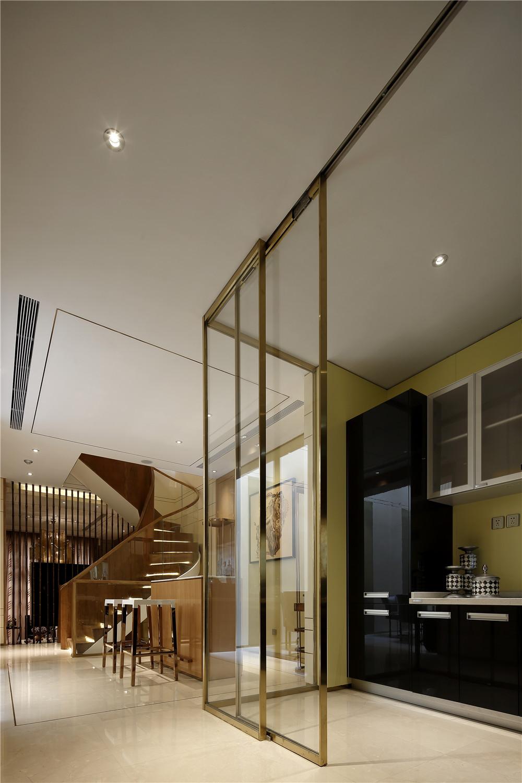现代风格别墅装修厨房设计图