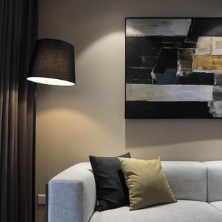 现代简约二居装修设计图