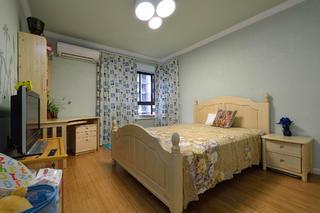 地中海美式乡村家卧室设计图