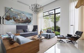 北欧风别墅装修客厅设计图