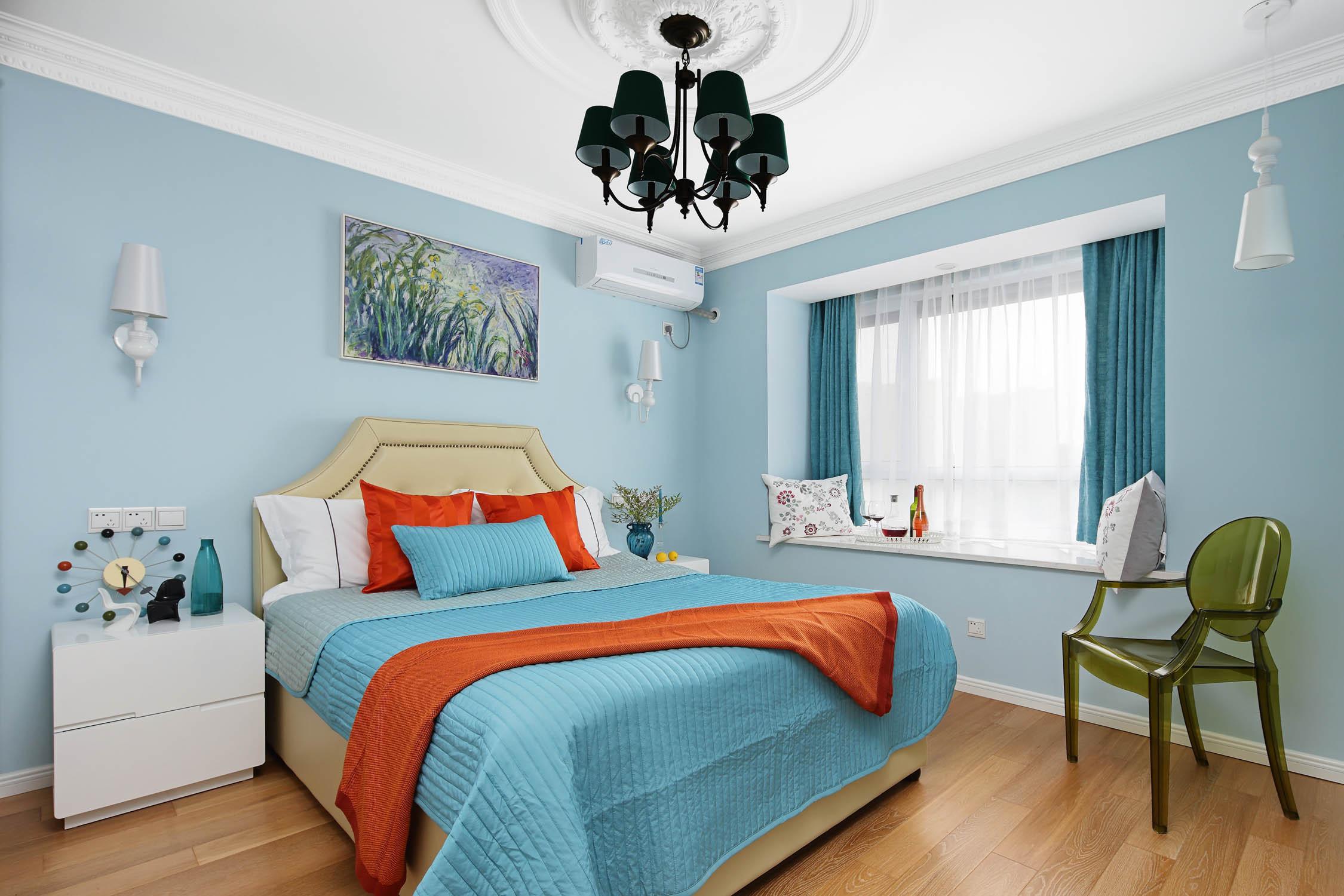 120平混搭装卧室设计图