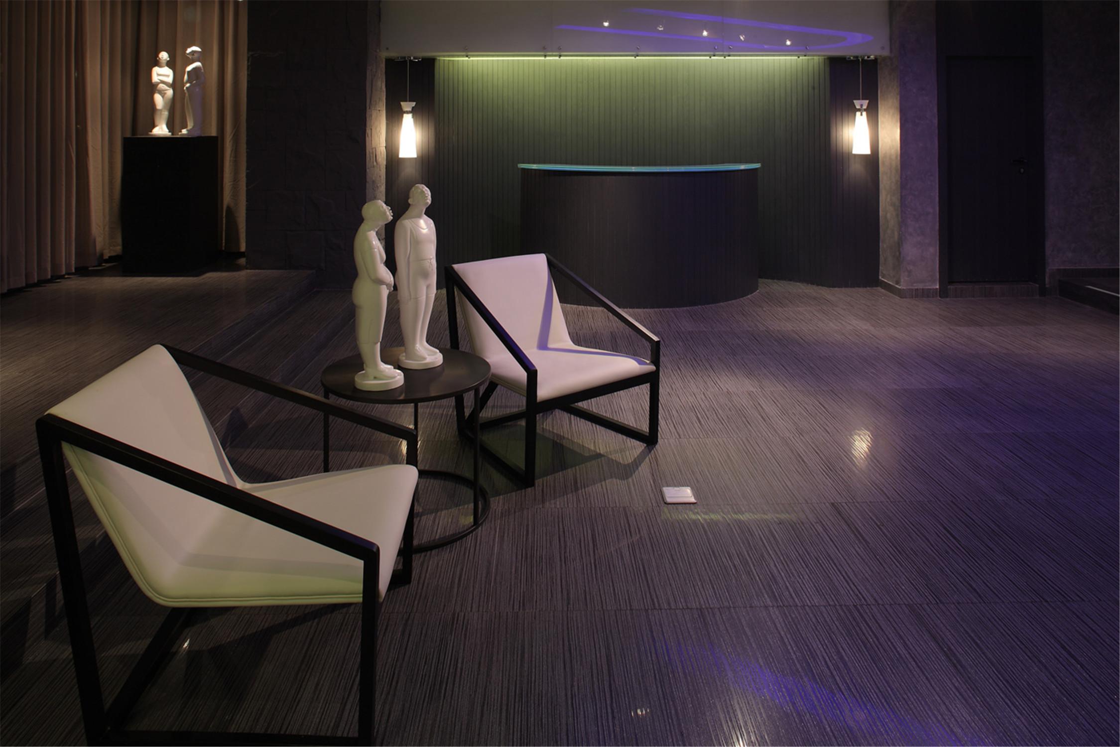 公寓式精品酒店装修大堂设计图