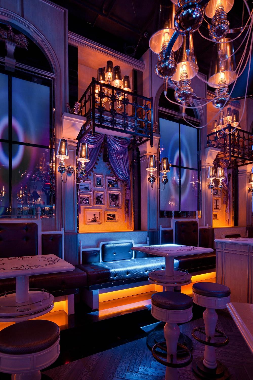 古典欧式酒吧装修室内装潢图