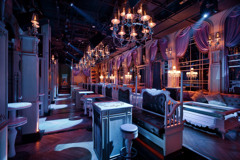 古典欧式酒吧装修整体效果图