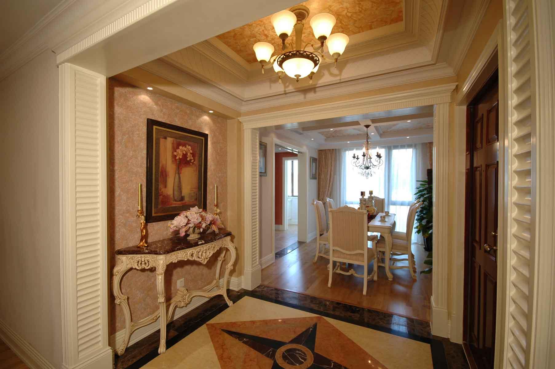 三居室欧式公寓装修玄关设计