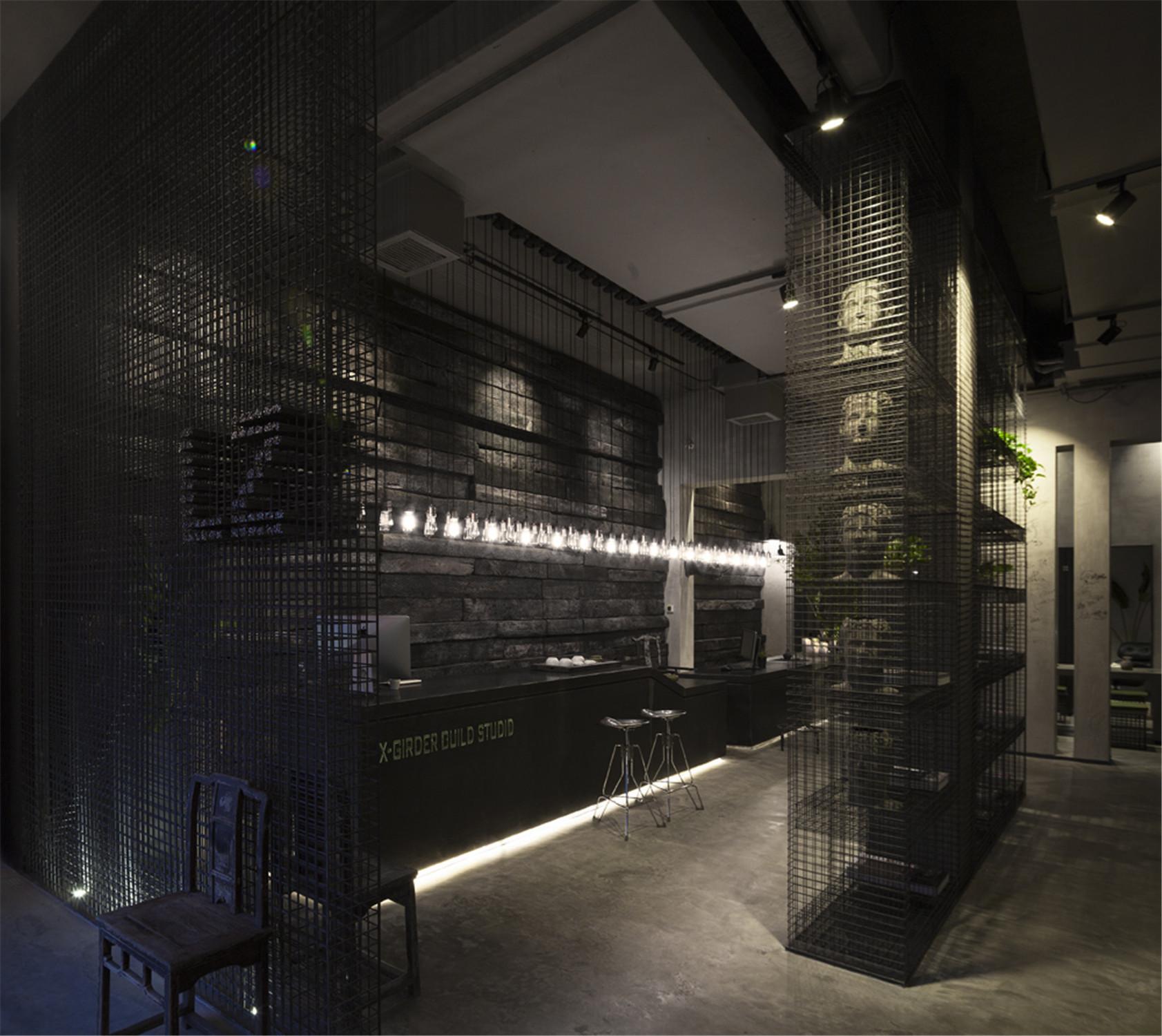 工作室设计前厅吧台区