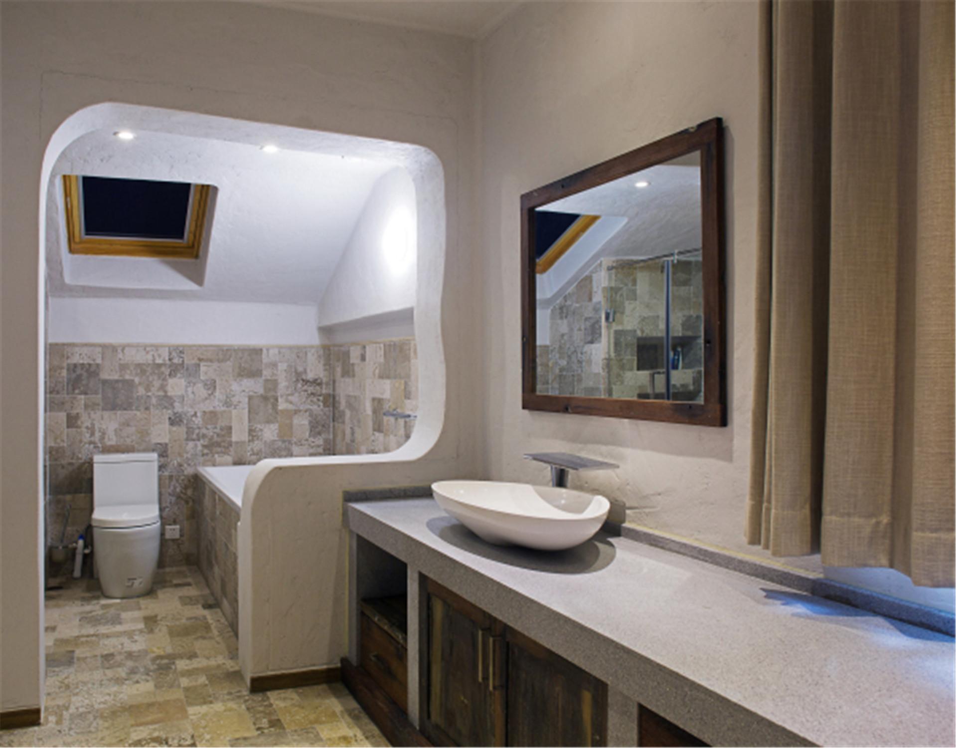 中式风格别墅装修卫生间设计图