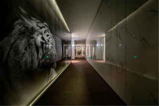 创意精品酒店装修过道设计