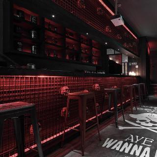 酒吧餐饮空间装修吧台墙面装饰设计