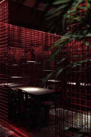 酒吧餐饮空间装修餐厅一角