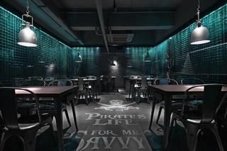 酒吧餐饮空间装修吊灯图片