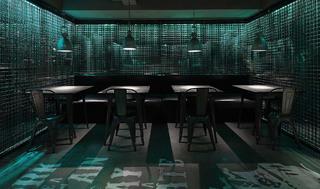 酒吧餐饮空间装修卡座区设计