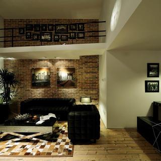 现代简约loft风格装修效果图