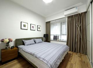 138平现代简约装修卧室布置图