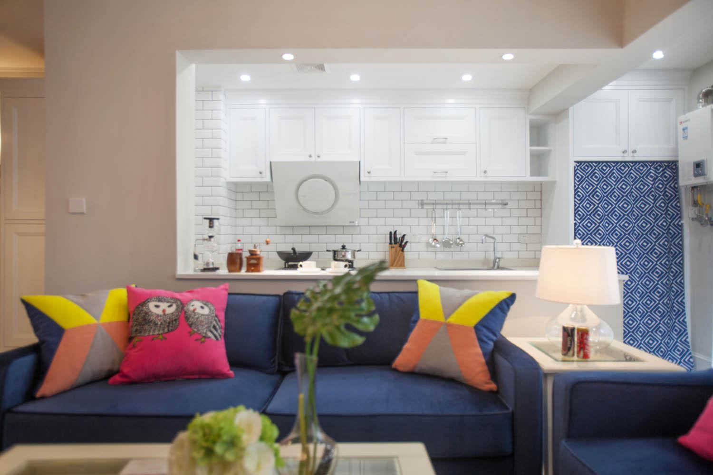 小户型北欧二居装修沙发图片