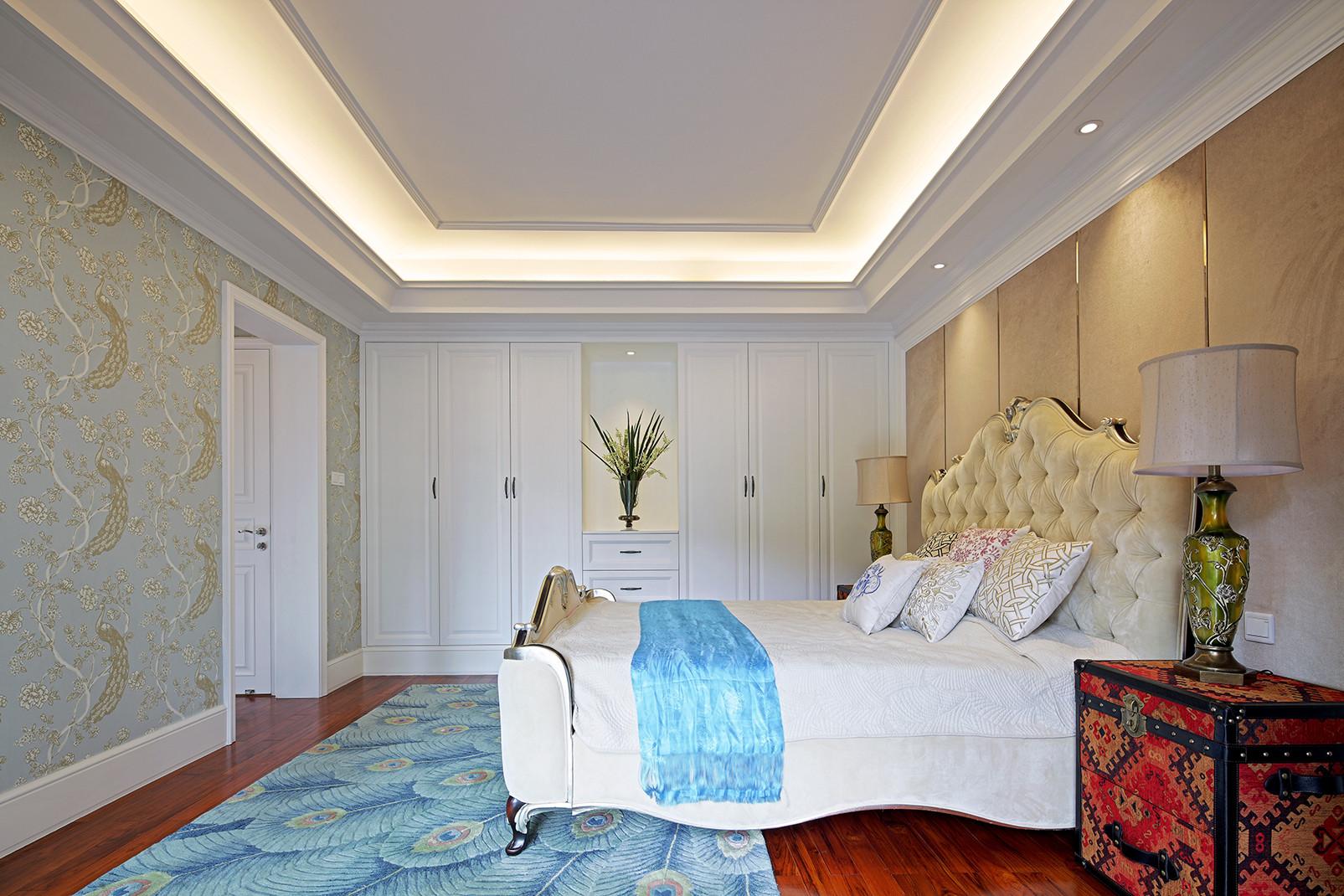 大户型美式风格家卧室设计图