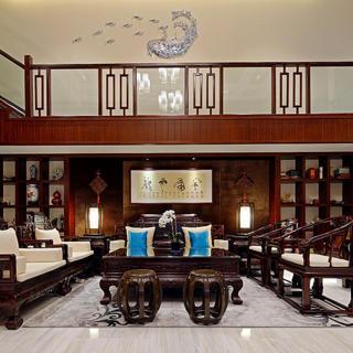 中式别墅装修设计 古韵悠扬