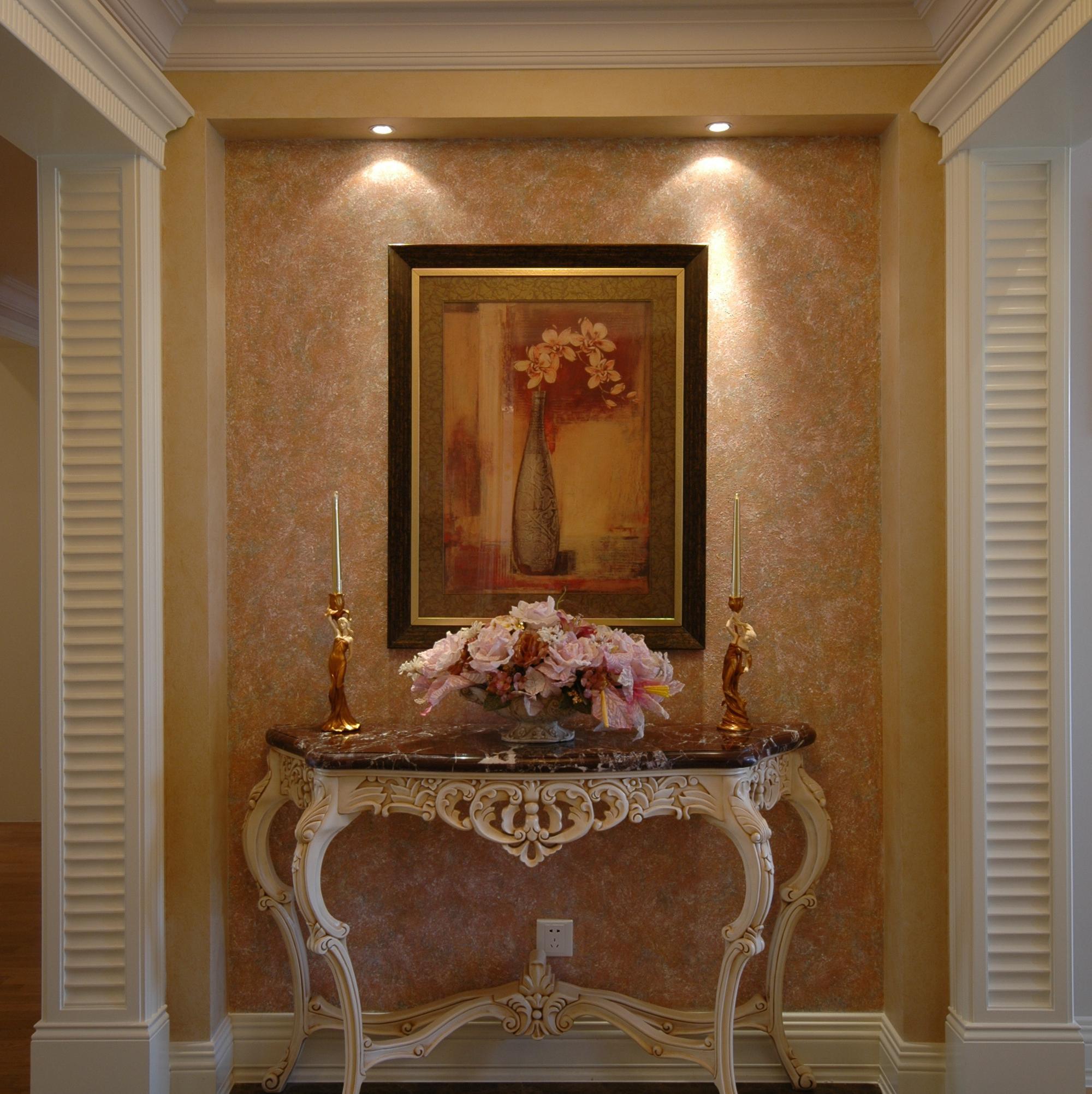 三居室欧式公寓装修实景图