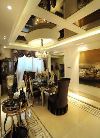 大户型欧式装修餐厅搭配图