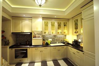 大户型欧式装修厨房布局图