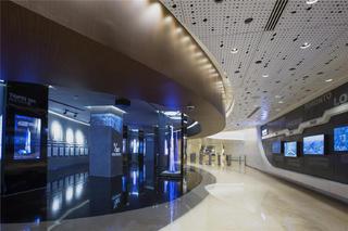 上海中心观光厅前厅设计图