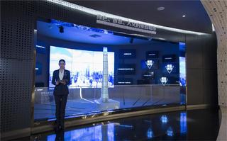 上海中心观光展示厅光影效果图