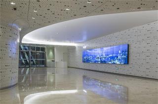 上海中心观光厅天顶设计图
