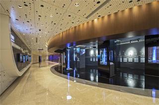 上海中心观光展示厅布局图