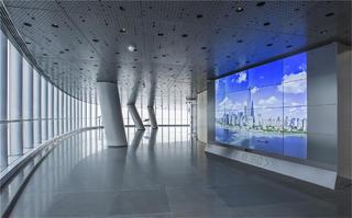 上海中心观光厅观景台效果图
